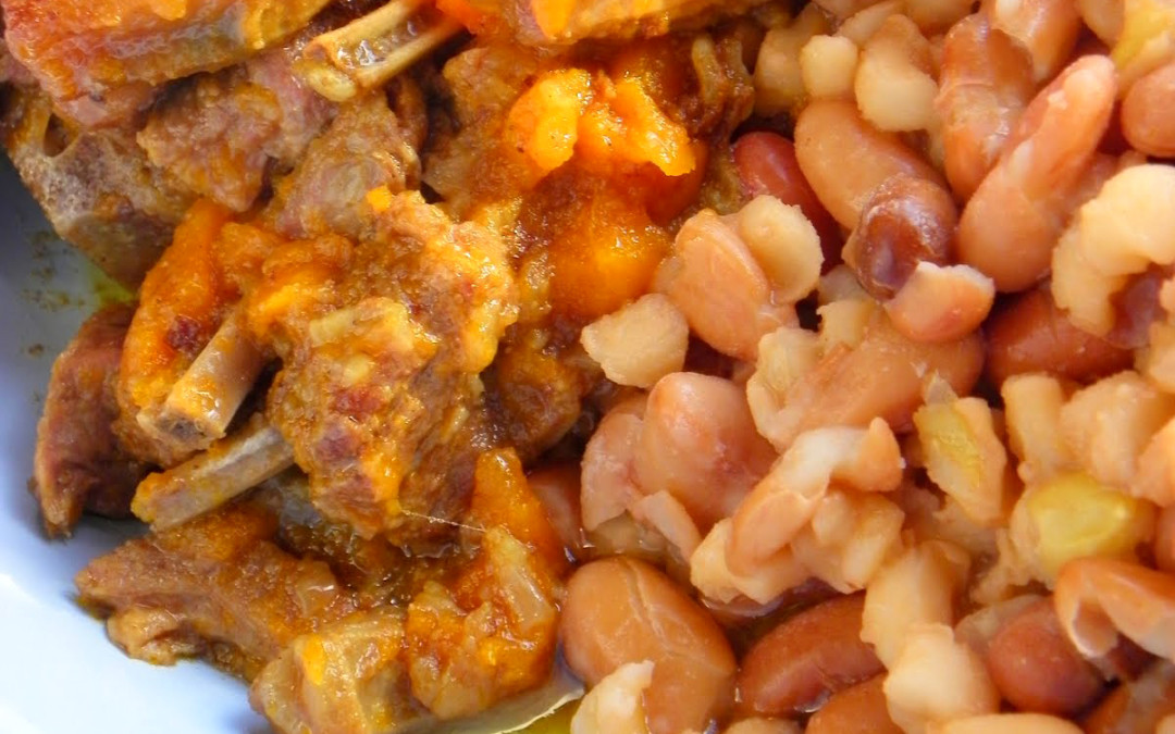 Tasty Samp & Beans with Beef & Veggies