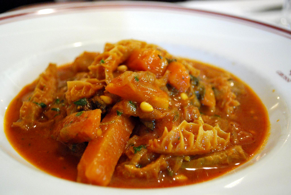 Delicious Tripe with Chunky Veg